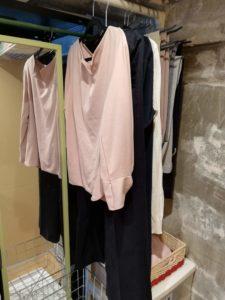 妻の衣類収納